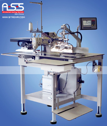 Automatic short seamer - complete sewing machine