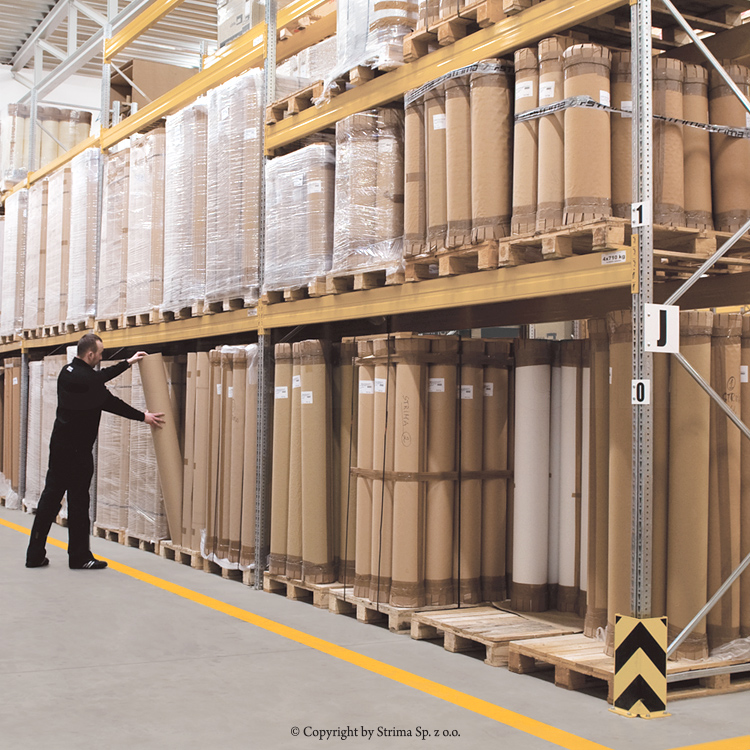 SOTTOMATERASSO SM 75 202 - Underlay paper, 202 cm width, roll length around 235 m