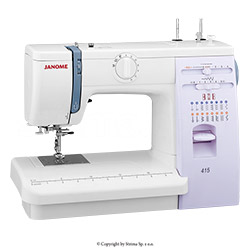 Multifunctional sewing machine - JANOME 415
