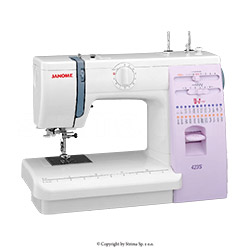Multifunctional sewing machine - JANOME 423S