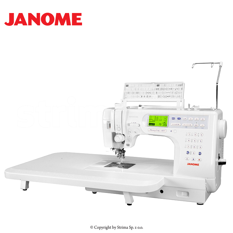 Computerized sewing and quilting machine janome memory for Janome memory craft 200e