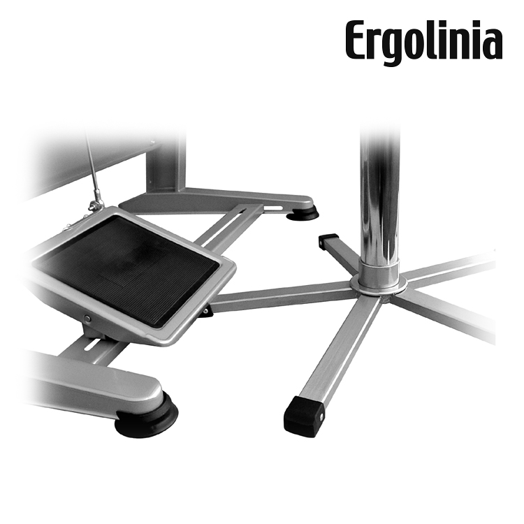 Industrial rotary chair (plywood) - pneumatic lift - ERGOLINIA EVO4