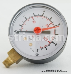 "Manometer 1/8"" for PLUTONE"