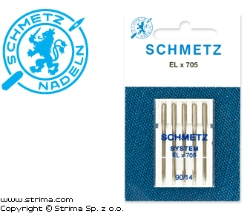 SCHMETZ needles for household machines ELx705 VDS, 5pcs. 5x90