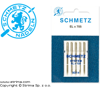 ELx705 VDS - SCHMETZ needles for household machines ELx705 VDS, 5pcs. 5x90