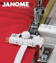 Shirring and elastic foot for JANOME overlock machines