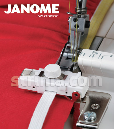 200218102 JANOME - Shirring and elastic foot for JANOME overlock machines