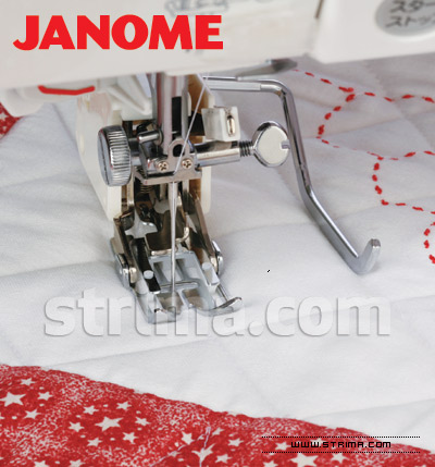 200310002 JANOME - Foot with upper feed