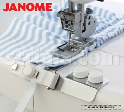 Elastic gathering attachment 9.0 - 13.5 mm for JANOME 1000CPX - 795817106 JANOME