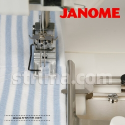 Transparent stitch foot for JANOME 1000CP COVER PRO