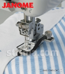 Foot with central guide for JANOME 1000CP COVER PRO