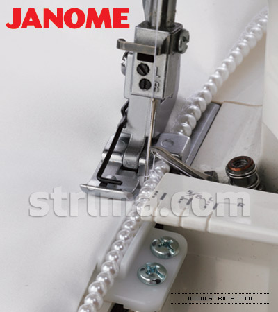 200214108 JANOME - Piping foot for JANOME overlock machines