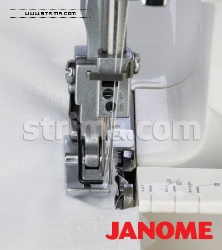 Shirring foot for JANOME overlock machines