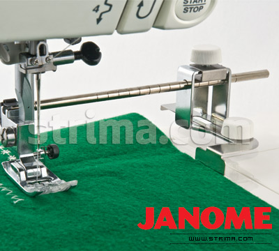 Adjustable seam guide for JANOME 1000CP COVER PRO