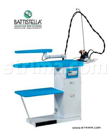 BATTISTELLA ARGO BLOWING - Ironing table with steam generator and STEAM MASTER iron