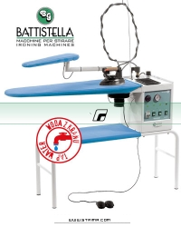 Ironing table with steam generator and STEAM MASTER iron - BATTISTELLA VULCANO BLOWING