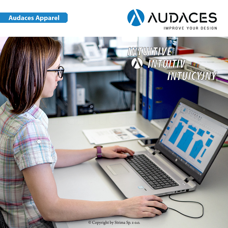 2 - AUDACES Apparel - Audaces Apparel - Pattern Design / Marker Making Standard - user's license