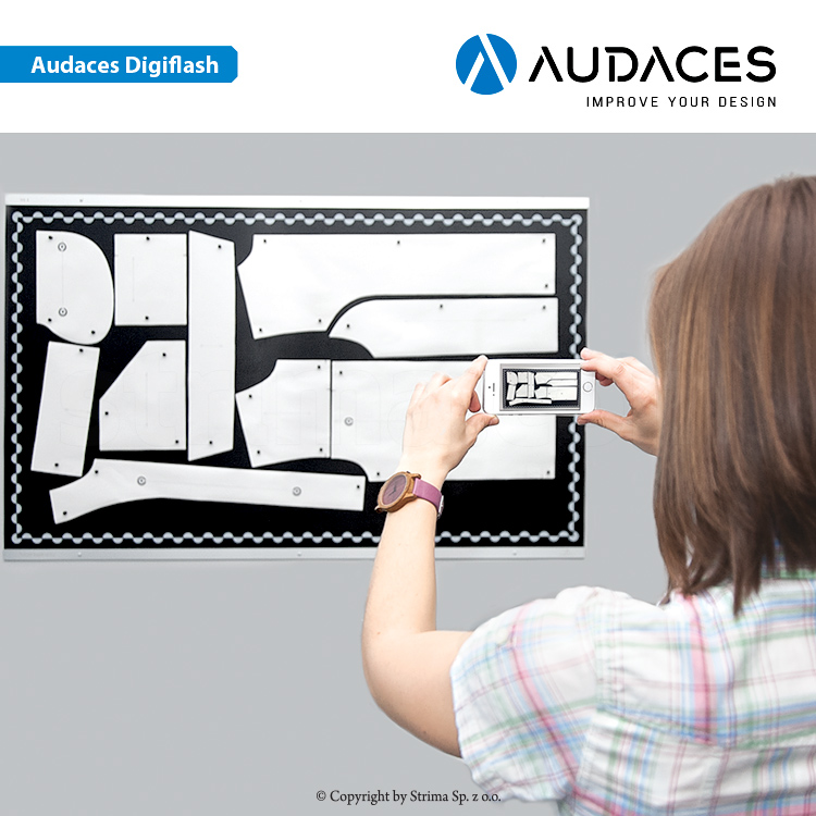 Audaces DigiFlash - complete with board - user's license