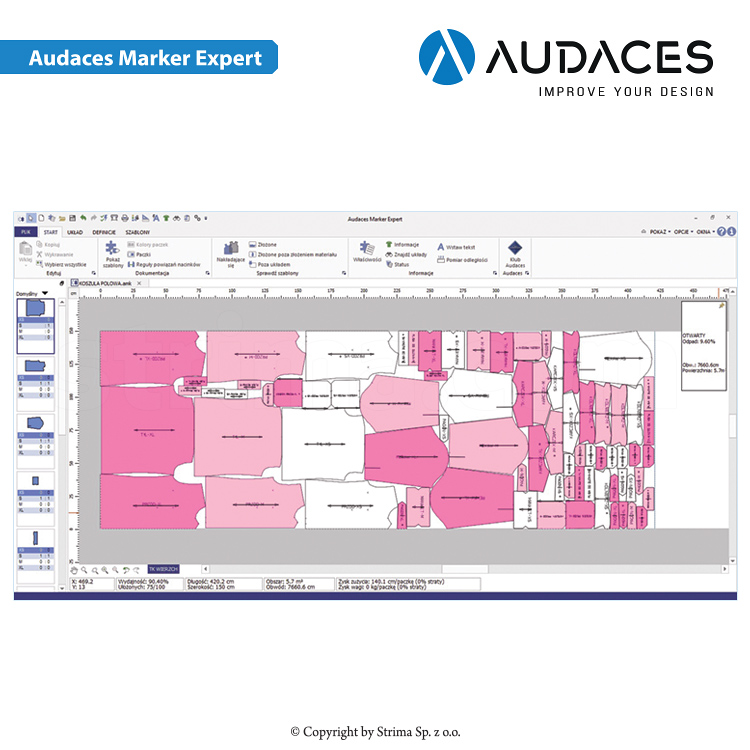 Audaces Marker Expert - user's license - 3 - AUDACES Marker Expert