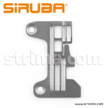Stitch plate for 757K-516M2-55 overlock