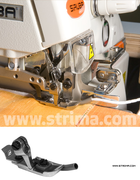 ST/SI 3/4 - 2,0MM - Net curtain overlock foot for sew - in lead weight