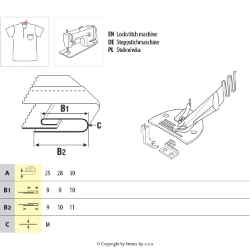Single fold right angle binder set