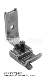 Foot with gauge for zigzag max 6mm, left