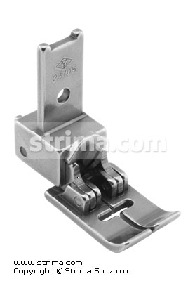 23705 - Compensating zigzag 10mm foot with smooth change of runner pressure