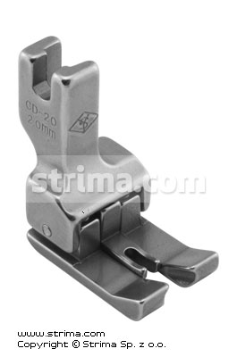CD-20 - Compensating two-sided foot 2.0mm