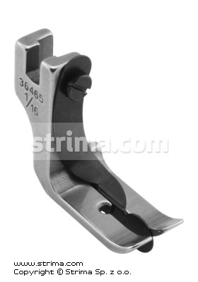 Foot with right sping guide 1.6mm