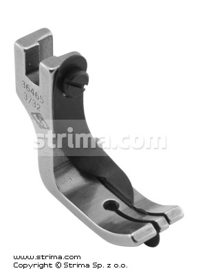 "Foot with right spring guide 2.4mm - P115 3/32"" [36465]"