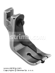 Foot with right spring guide 4.8mm