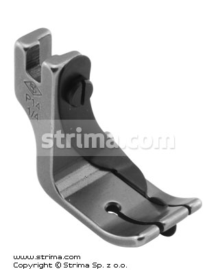 Foot with right spring guide 6.4mm