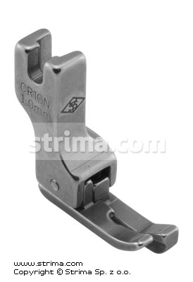 CR10N 1,0MM - Compensating narrow foot 1.0mm, right
