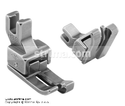 Compensating foot for domestic machine, right 3.0mm