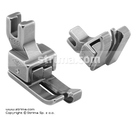 H3,0 - Compensating foot for domestic machine, right 3.0mm
