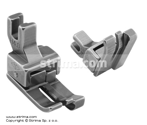 H4,0 - Compensating foot for domestic machine, right 4.0mm