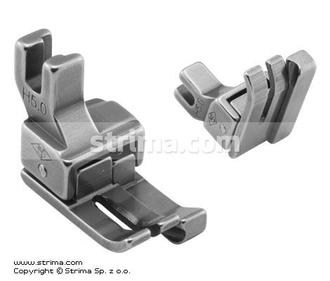 H5,0 - Compensating foot for domestic machine, right 5.0mm