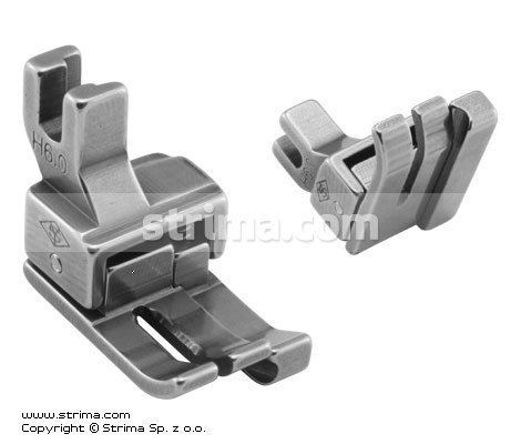 H6,0 - Compensating foot for domestic machine, right 6.0mm