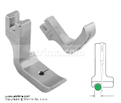 Piping foot, left 1.6mm