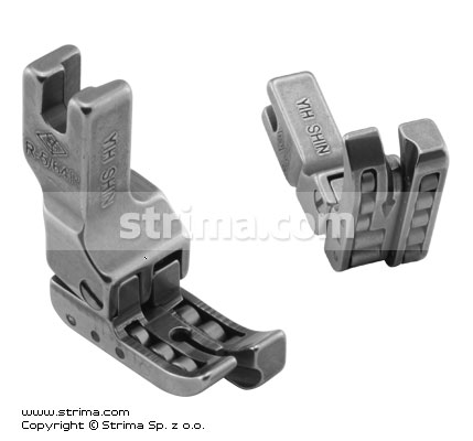Compensating roller foot, right 2.0mm