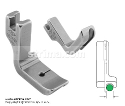 Piping foot, right 4.8mm