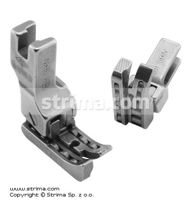 R-1/16LN - Compensating roller foot, left 1.6mm, narrow