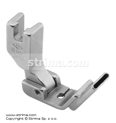 P3516C5/16 [S10C 5/16] - Foot with central tape guide 8.0mm