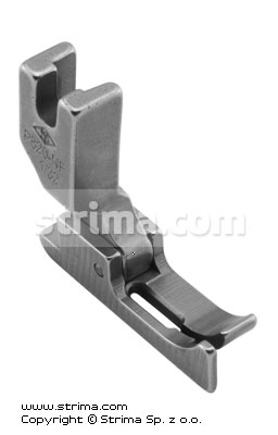 P820-NF 1/32 - Needle feed foot with left guide 0.8mm