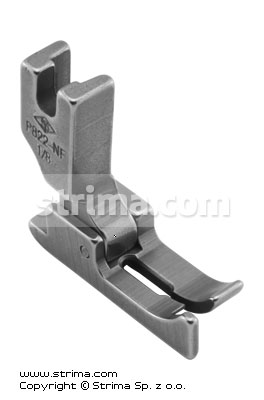 P822-NF 1/8   - Needle feed foot with left guide 3.2mm