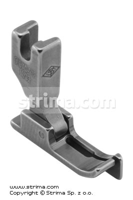 P810-NF 1/32  - Needle feed foot with right guide 0.8mm
