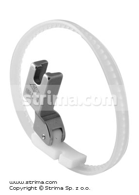 SR-DB-L - Cording PTFE foot, left with ring