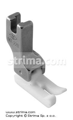TCL1/32N [MT220] - Compensating PTFE foot, left 0.8mm, narrow