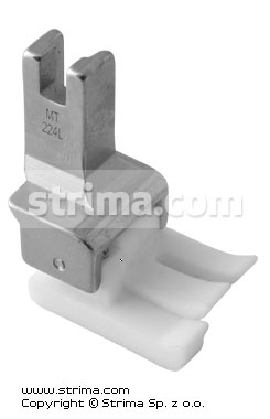 TCL1/4 [MT224L] - Compensating PTFE foot, left 6.4mm